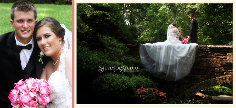 Garvan Woodland Gardens in the spring - you couldn't ask for a more beautiful wedding venue!